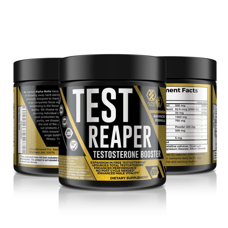 test reaper testosterone booster