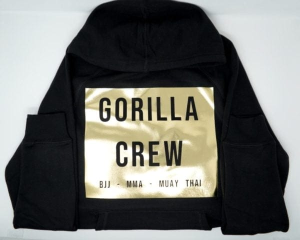 AlphaBolix Gorilla Crew Fleece SweatShirt