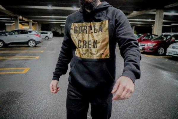 AlphaBolix Gorilla Crew Fleece SweatShirt