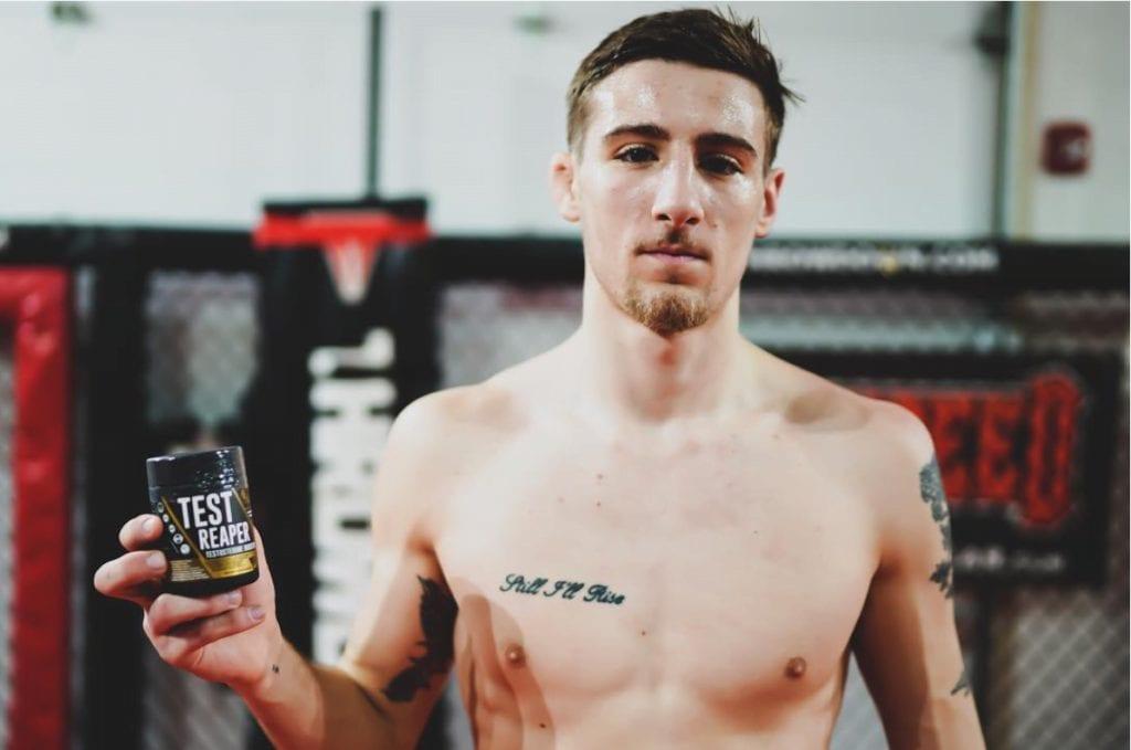 MMA Title fight Test Reaper Testosterone Booster for men