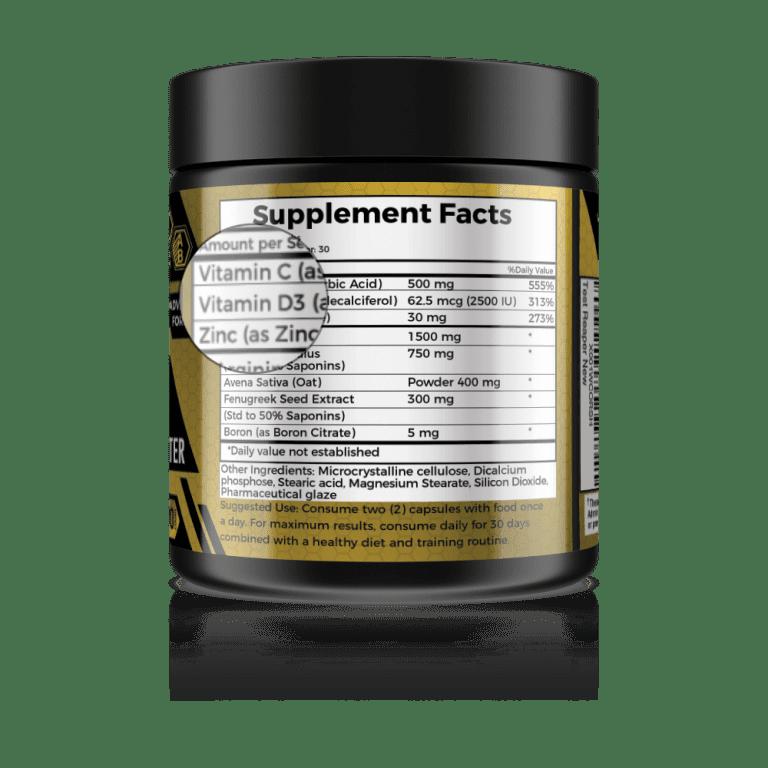 vitamin d test reaper best testosterone booster for men
