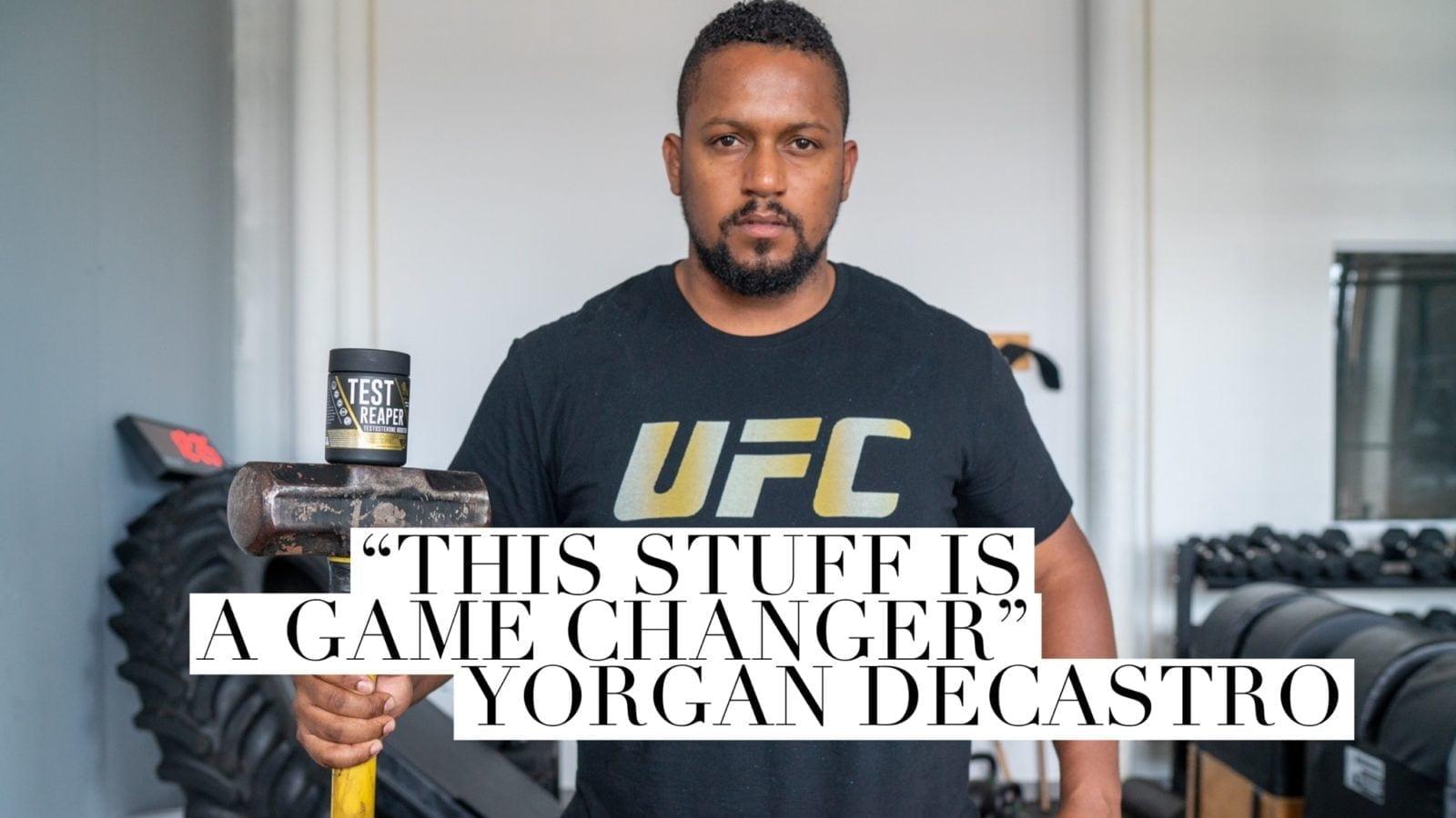 Yorgan De Castro mma