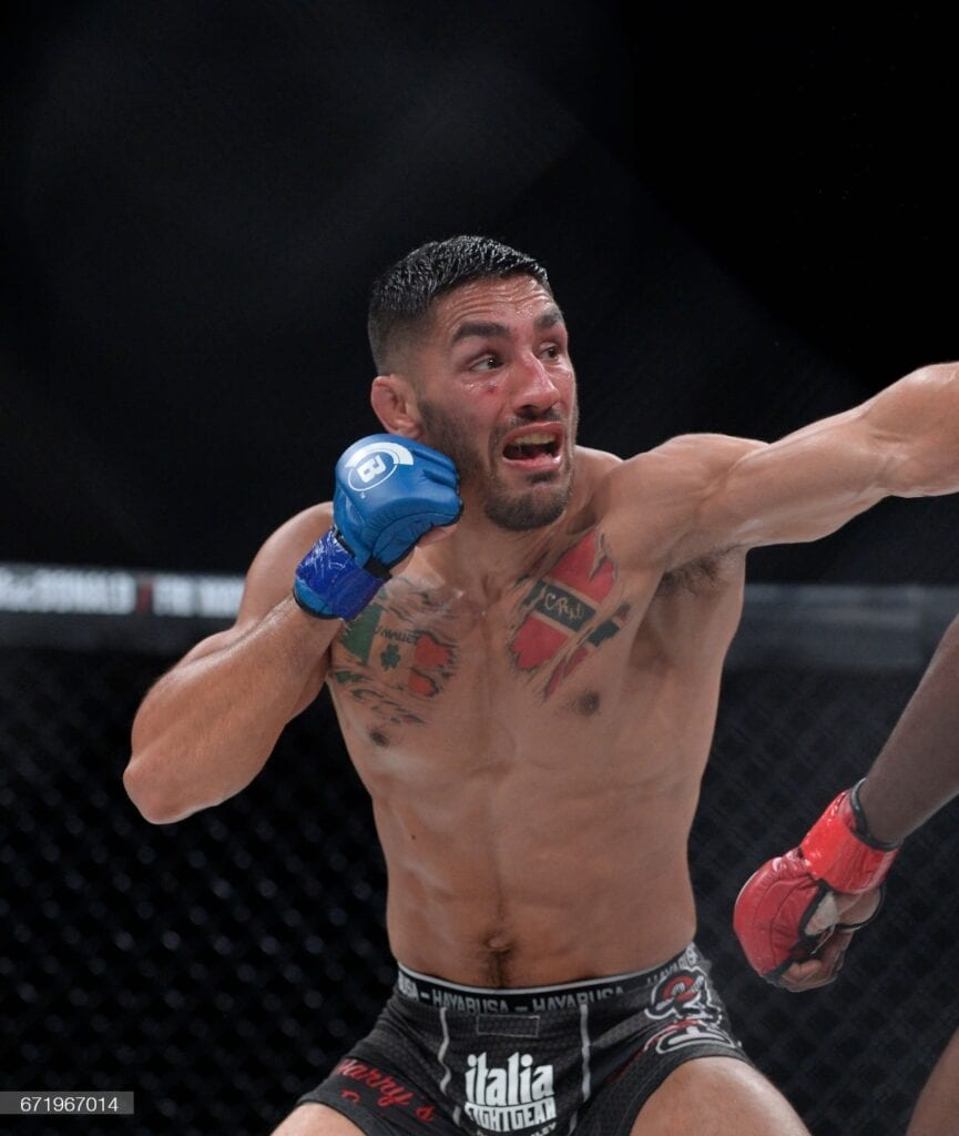 Shane Manley fighting in MMA bout in CT